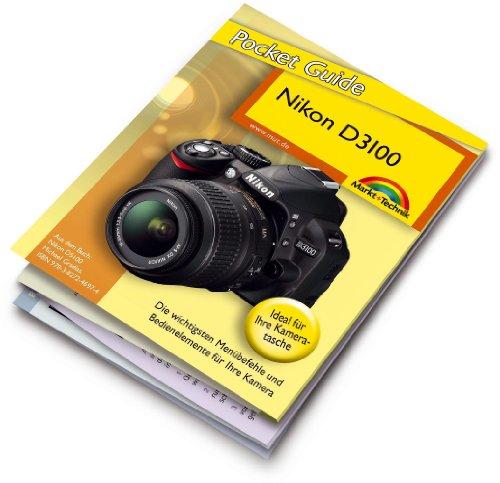 Preisvergleich Produktbild Nikon D3100 Pocket Guide: 12-seitige Klappkarte (Kamerahandbücher)