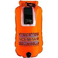Nonbak Boya de Natacion estanca Selfie 28L con Ventana para Guardar el móvil. 100% Impermeable. Nadadores Aguas Abiertas, Kayak, Deportes acuáticos.