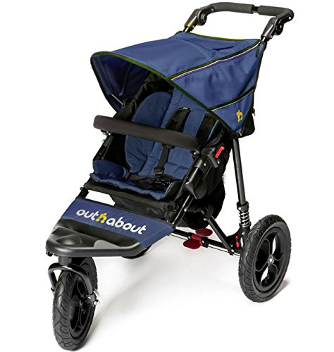 Out n about Nipper single pushchair V4 (Royal navy)