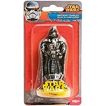 Dekora 346090 - Vela con diseño Star Wars 3D, 8,5 cm