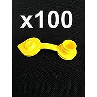 Mr. Yellow Ven Gas combustible puede jarro de respiraderos tapa recambio amarillo