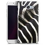 DeinDesign Samsung Galaxy A5 (2017) Silikon Hülle Case Schutzhülle Zebra Dschungel Animal Print