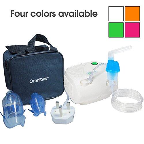 Omnibus BR-CN116B - Nuevo inhalador compresor Inhalador compacto para inhaladores bebe electrico dos...