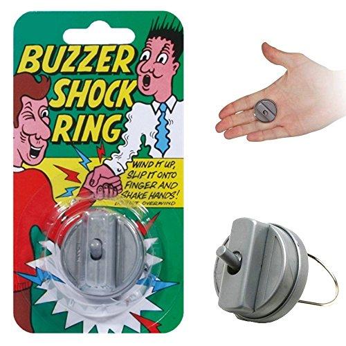 Hand buzzer - Anello-scossa - Scherzo/giocattolo - Buzzer shock ring