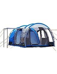 Regatta Vanern 4 - Tienda de campaña, color azul - Oxford Blue/Lead Grey, tamaño talla única