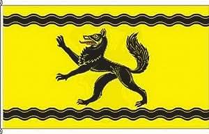 Königsbanner Hochformatflagge Schwarzenbek - 80 x 200cm - Flagge und Fahne