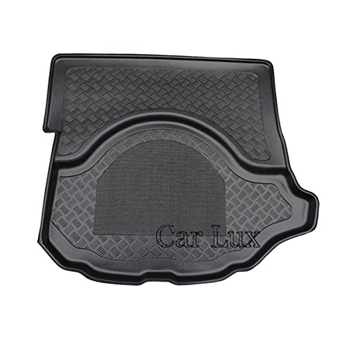 Car Lux AR03314 - Alfombra Cubeta Protector cubre maletero a medida con antideslizante