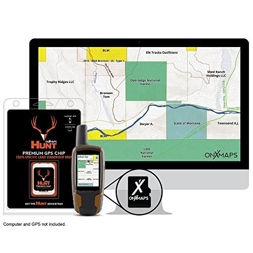HUNT Michigan by onXmaps - Public/Private Land Ownership 24k Topo Maps for Garmin GPS Units (microSD/SD Card) by onXmaps Garmin Topo 24k