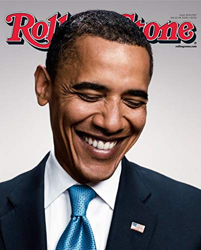 Rolling Stone Magazine Cover Poster - Barack Obama - U.S Imported MU.Sic Wall Poster Print - 43cm x 61cm / 17 Inches x 24 Inches A2