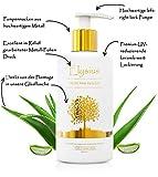 Elysius Aloe Vera Gel 100% Bio Anbau Gesichtspflege Premium Inhalt Hautpflege