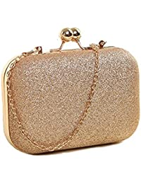Lacira® Bling Purses Grape Hard Case Clutches for Women - Super Stylish Clutches for Girls