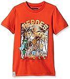 Catimini CH10032 - T-Shirt - Imprimé - Garçon - Orange (Feu) - FR: 4 Ans (Taille Fabricant: 4 Ans)