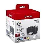 Canon PGI-1500XL BK/C/M/YMAXIFY MB2050/MB2350 Ensemble de cartouches d'encre Noir, cyan, magenta et jaune