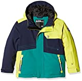 Dare2b Rouse up Jacket Jr, Multicolored (Yellow/Navy/Green), Gr. EU 176