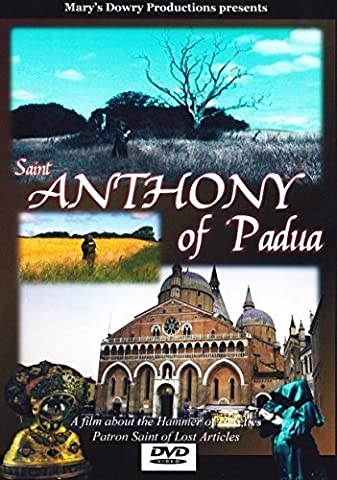 Saint Anthony of Padua, St. Anthony, DVD, Miracle Worker, Wonder