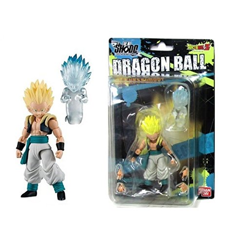 Bandai Dragon Ball Z Shodo SSGSS GOTENKS & GHOST Figurine articulée