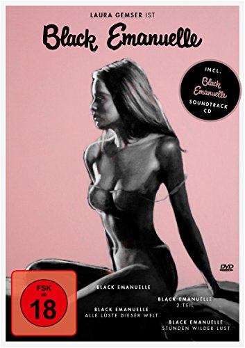 Black Emanuelle - Die Edition (+ Audio-CD) [4 DVDs]