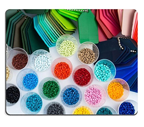 luxlady Gaming Mousepad Bild-ID: 27511221mehrere gefärbt Kunststoff-Polymer Granulate in Labors