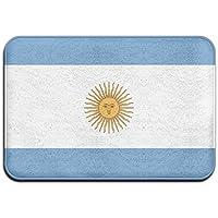diyabcd Argentina Bandera sol Felpudo antideslizante para casa jardín puerta alfombra Felpudo piso almohadillas