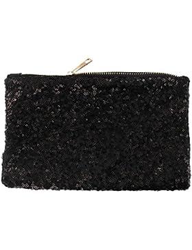 Luxus Pailletten Retro Clutch Abendtasche Handtasche