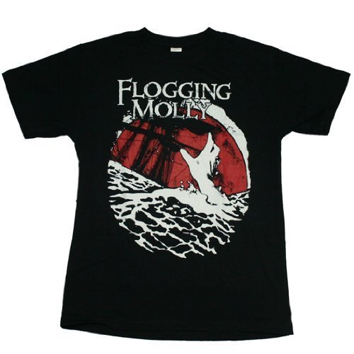 Jiggy Flogging Molly - Drowning T-Shirt Size S