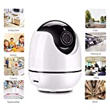 Xwly-Dr Drahtlose Webcam WiFi Remote Monitor Mobile Remote Home Smart Night Vision Surveillance HD 960P Kamera