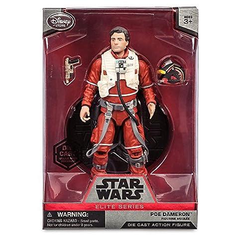 Star Wars 6'' Elite Series Die-Cast Figure Poe Dameron (Episode VII: A Force Awakens)