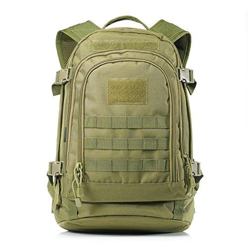 Imagen de yakeda® 600d  poliéster impermeable, impermeable  militar  táctica  a88051 verde