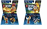 Chima Laval Fun Pack - Lego Dimensions (71222) & Chima Eris Fun Pack - LEGO Dimensions (71232) bundle of 2. by Warner Home Video - Games