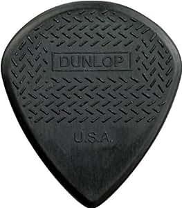 DUNLOP 471R3C MAX GRIP JAZZ NYLON CARBON BLACK Guitars accessories Picks