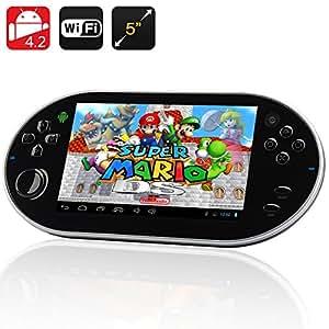 Emulation III - Tablette console Android 4.2 / Écran 5 pouces / CPU RK30 Dual Core / Émulateur de jeu / 8Go de mémoire interne*