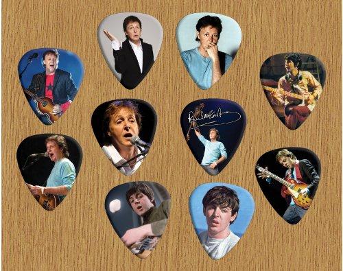 Paul McCartney Beatles Signed Autograph Loose plektron X 10 (Limited to 500 sets of 10 plektron)