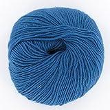 Next Yarns Dochtwolle fine 100g F175 blau