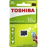 Toshiba M203 16GB Class 10 Micro SD Memory Card (THN-M203K0160A4)