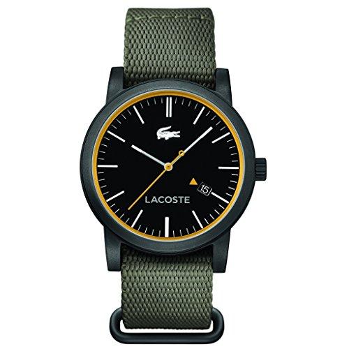 Lacoste orologio da polso da uomo metro al quarzo in tessuto 2010837