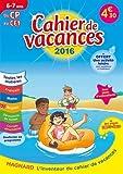 Cahier de vacances du CP au CE1 6-7 ans