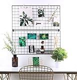 Rumcent multifunktions - metallgewebe grid - panel wand dekor / foto wall / wall art display & veranstalter, packung mit 2 pcs, größe: 15,7 x 31,5