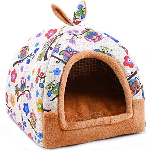 Tiunyeah 2 1 Casa Mascotas sofá Interior Suave cálido