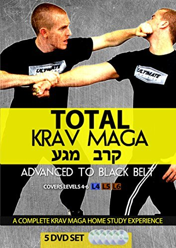 Total Krav Maga: Advanced to Black Belt 5 DVD Set (Groundfighting, Edged Weapons, Firearms, and Takedowns)