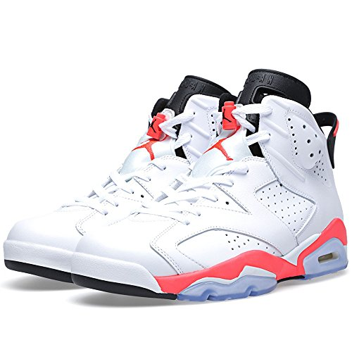 Air Jordan white/infrared-black