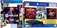 PS4 1TB Slim Bundled with Spider-Man, GTaSport, Ratchet & Clank And PSN 3Month&FIFA 21 Standard Editi