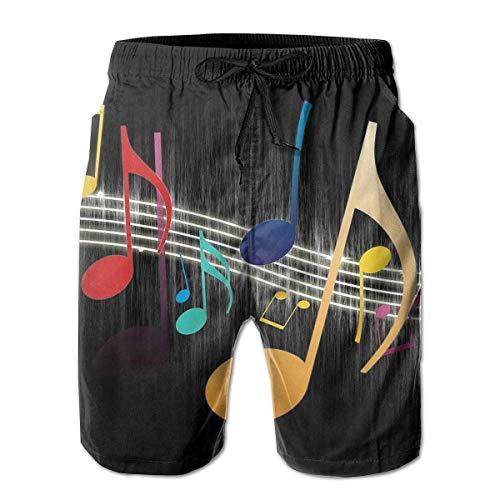 KKONEDS Men's Shorts Pockets Swim Beach Trunk Summer