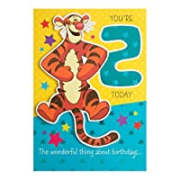Hallmark Winnie the Pooh 2nd Birthday Card