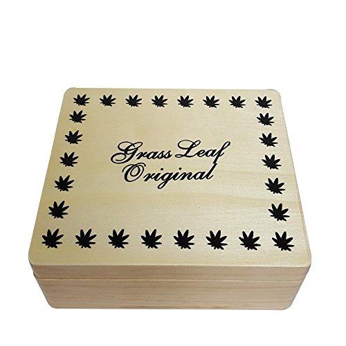 Hierba hoja Original fumar accesorios caja de almacenamiento con ruedas 'tamaño grande' por ismoketime