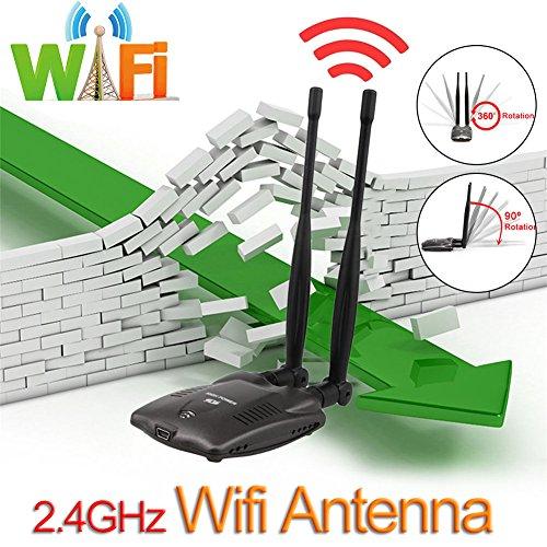 Favourall Wireless USB Wifi Adapter. Long Range 5dBi Antenne-Gain-Dual Band Wifi (5 GHz 867 MBPS/2.4GHz 300 Mbps) unterstützt Windows XP/7/8/10/Mac/Linux Outdoor-dual-band-antenne