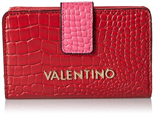 valentino-by-mario-valentino-clover-porte-monnaie-femme-multicolore-mehrfarbig-rosso-fuxia-35x115x20