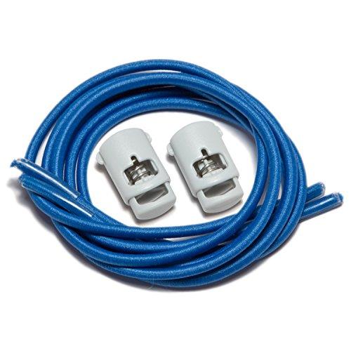 IBungee speedlaces lacets élastiques Bleu (Königs Blau)