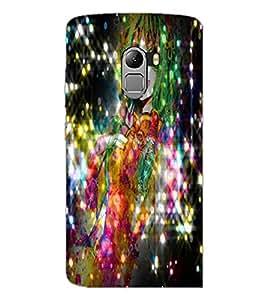 PrintDhaba Cute Girl D-2830 Back Case Cover for LENOVO VIBE X3 LITE (Multi-Coloured)