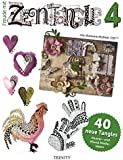 Freude mit Zentangle® 4: 40 neue Tangles Muster und Bordüren-Ideen