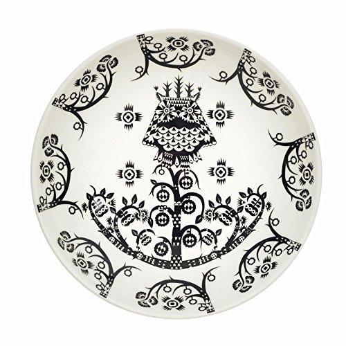 Taika - Assiette creuse Ø20cm noir/blanc/Ø20cm